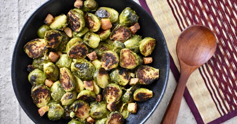Roasted Brussels Sprouts with Lemongrass
