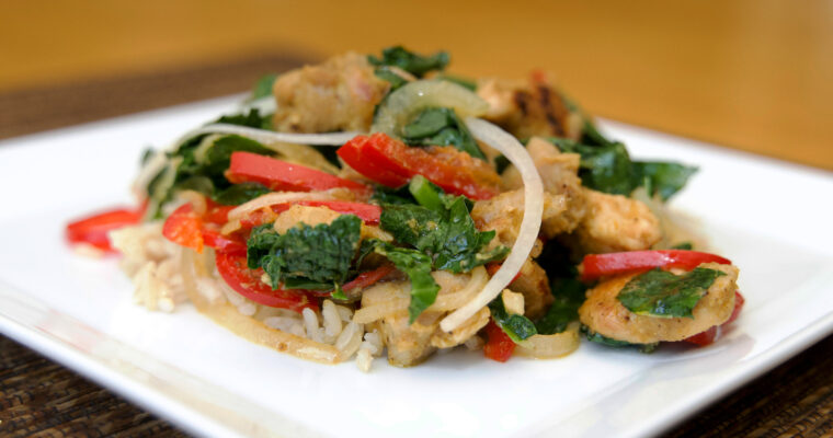 Lemongrass Chicken Stir-Fry
