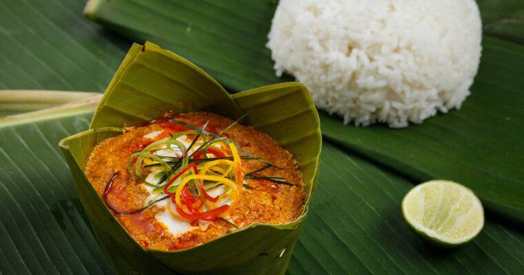 Cambodian Fish Custard – Amok