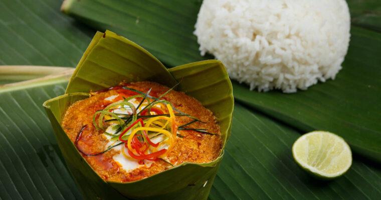 Cambodian Fish Custard – Amok