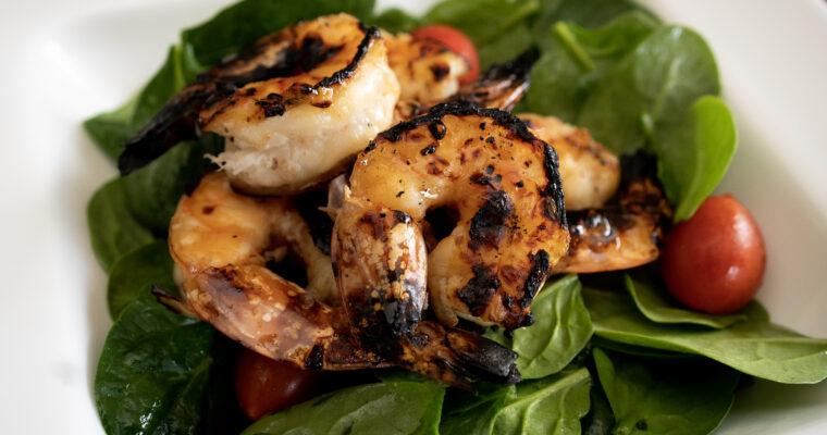 Tamarind Shrimp Salad