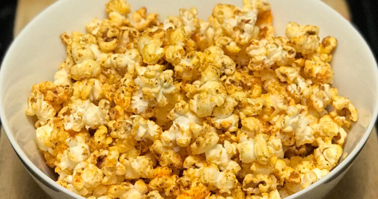 Cambodian Curry Kettle Corn