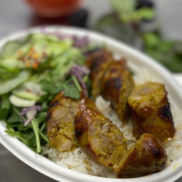 LEMONGRASS PORK SAUSAGE