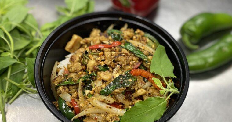Hot Basil Stir-Fry (Cha Kdaow)