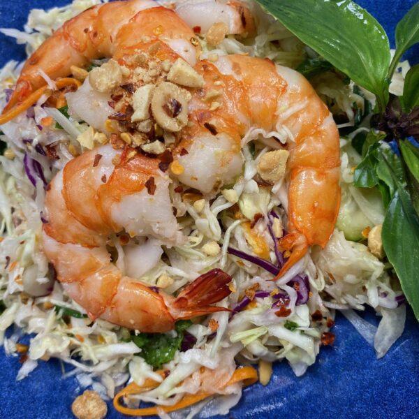 Shrimp Salad (Ngom Spey Kdaob)